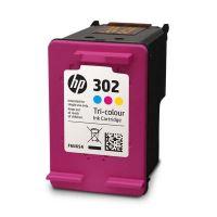 Cartridge HP F6U65AE, No.302, color, originál 2