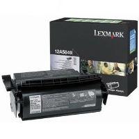Toner Lexmark Optra T, T610, T612, T614, T616, černá, 12A5849, return, originál