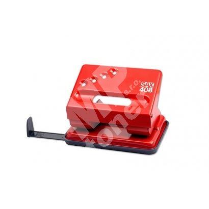 Děrovač Sax 408, červený 1
