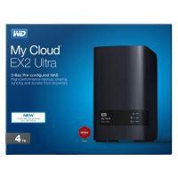 """4TB Externí úložiště WD My Cloud EX2, NAS 3.5"""" Ultra, USB 3.0/RJ45"""