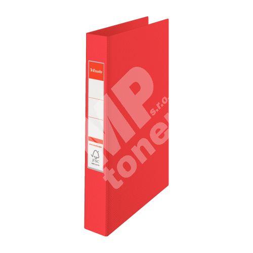 Čtyřkroužkový pořadač Esselte, 35 mm, červený 1
