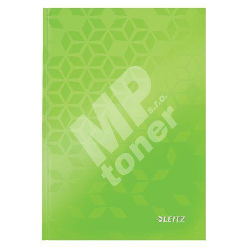 Zápisník Leitz WOW A5, linkovaný, zelený 1