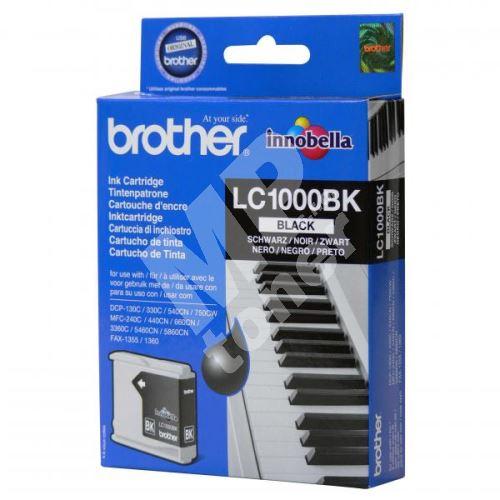 Cartridge Brother LC-1000BK, originál 1