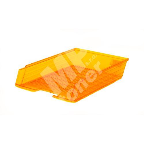 Box na papír Chemoplast průhledný, oranžový 2