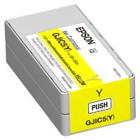 Inkoustová cartridge Epson C13S020566, ColorWorks C831, yellow, GJIC5(Y), originál