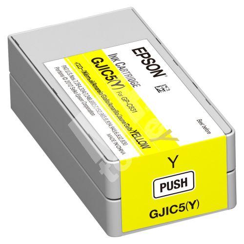 Cartridge Epson C13S020566, yellow, GJIC5(Y), originál 1
