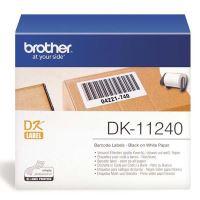 Papírové štítky Brother DK11240, 102mm x 51mm, bílá, 600 ks, pro tiskárny řady QL