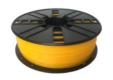 Tisková struna Gembird (filament) nylon, 1,75mm, 1kg, žlutá