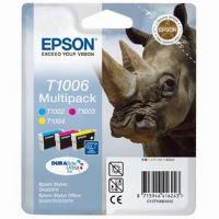Inkoustová cartridge Epson C13T10064010, Stylus Office B40W/BX300F/BX600FW, CMY, originál