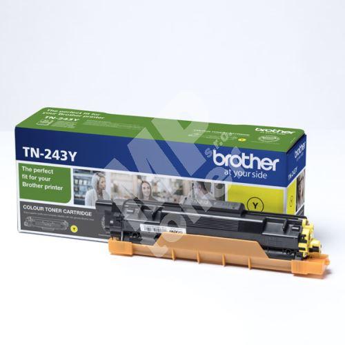 Toner Brother TN-243Y, DCP-L3500, MFC-L3730, MFC-L3740, yellow, originál
