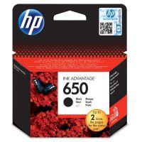 Inkoustová cartridge HP CZ101AE, Deskjet Ink 2515, 3515 e-Ai0, black, No.650, originál