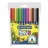 Popisovač Centropen 2521 Happy Liner sada 12 barev
