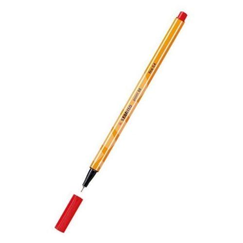 Liner Point 88, červená, 0,4mm, STABILO 1
