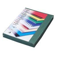 Kartónové desky pro zadní strany Delta A4, 230 g, zelená, 100 ks