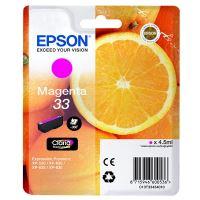 Inkoustová cartridge Epson C13T33434012, Expre. Home XP-530, XP-630, magenta, 33, originál