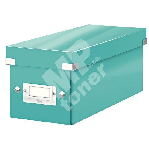 Archivační krabice na CD Leitz Click-N-Store WOW, ledově modrá 1