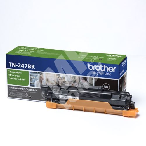 Toner Brother TN-247BK, DCP-L3510CDW, DCP-L3550CDW, black, originál