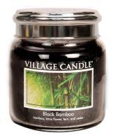 Village Candle Vonná svíčka ve skle, Bambus - Black Bamboo, 16oz