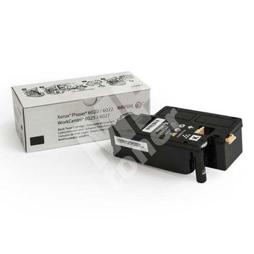 Toner Xerox 106R02763, black, originál 1