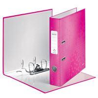 Pákový pořadač 180 Wow, růžová, 52 mm, A4, PP/karton, LEITZ 2