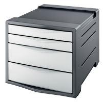 Zásuvkový box Esselte Europost VIVIDA 4 zásuvky, bílý
