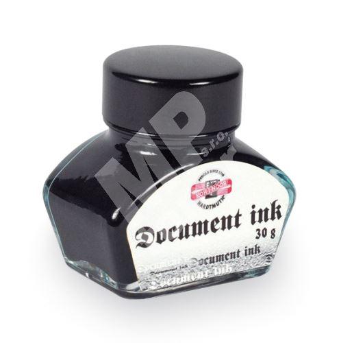 Inkoust dokumentní, sklo, 30g černý Koh-i-noor 1