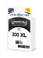 Kompatibilní cartridge HP CC641EE, CC642EE, pack, black+color, No. 300XL, Armor