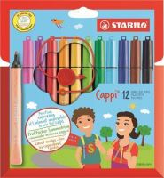 Fix Cappi, mix barev, 1mm, 12ks/bal., STABILO 3