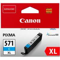 Inkoustová cartridge Canon CLI-571C XL, Pixma MG5750, MG5751, MG5752, cyan, originál
