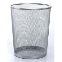 Odpadkový koš Victoria drátěný, 18l, stříbrná