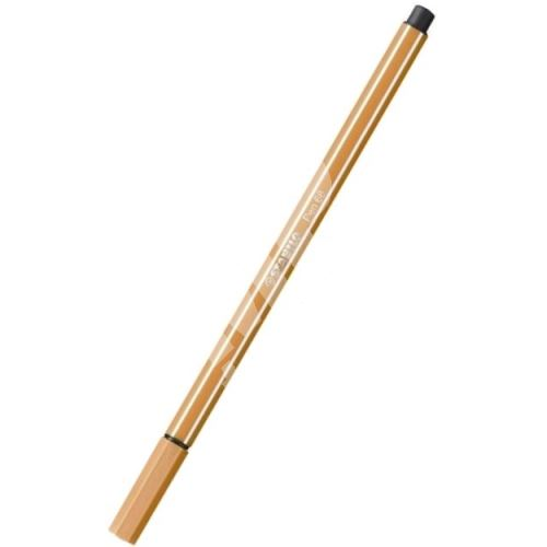 Fix, 1 mm, STABILO Pen 68, okrová tmavá 1