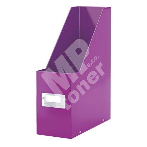 Archivační stojan na časopisy Leitz Click-N-Store wow, purpurový 1