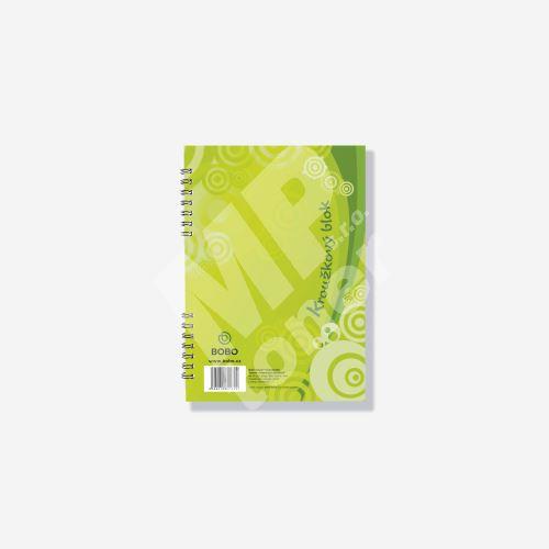 Bobo blok s boční vazbou A5, čtvereček, 40 listů 1