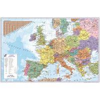 Psací podložka na stůl mapa Evropy 60 x 40