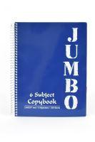 Poznámkový blok A4, 180listů, čtvereček, JUMBO tmavě modrá
