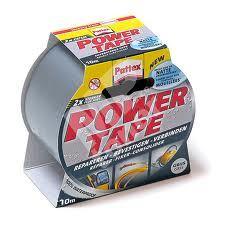 Lepící páska 50 mm x 10m Pattex Power tape, textilní stříbrná 1