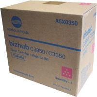 Toner Konica Minolta TNP-48M, Bizhub C3350, C3850 magenta, A5X0350, originál