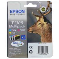Cartridge Epson C13T13064012, CMY, originál 2
