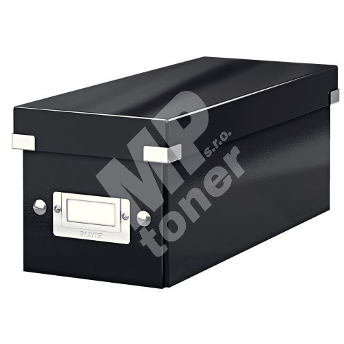 Archivační krabice na CD Leitz Click-N-Store WOW, černá 1