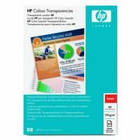 HP Color LaserJet Transparencies, fólie, transparentní, A4, 170 g/m2, 50ks, 210, 297mmx