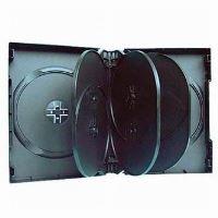 Box na 10ks DVD, 33mm, černý