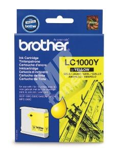 Cartridge Brother LC-1000Y, originál 1