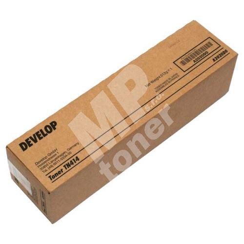Toner Develop TN-414K, black, A2020D0, originál 1