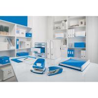 Leitz New NeXXt Wow stolní sešívačka 5502, metalický modrý 12