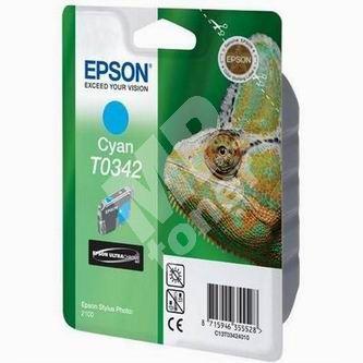 Inkoustová cartridge Epson C13T034240 modrá, originál