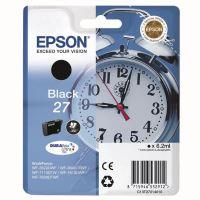 Inkoustová cartridge Epson C13T27014012, WF-3620DWF, WF-3640DTFW, black, 27, originál