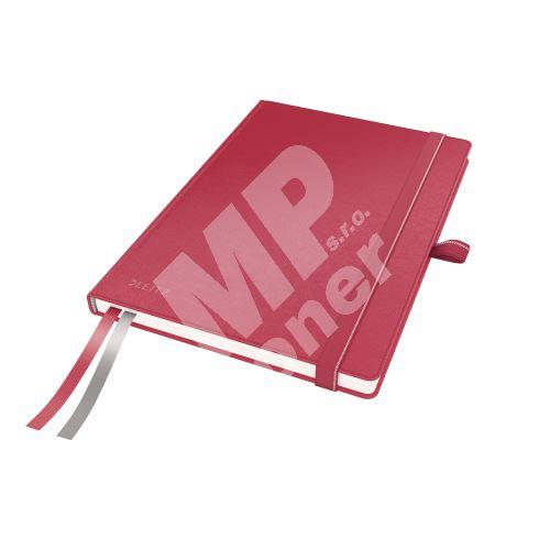 Zápisník Leitz Complete, A5, linka, červený 1