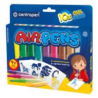 Foukací fixy Centropen 1500/10 AIRPENS Cool set 10 barev