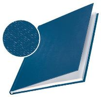 Tvrdé desky Leitz impressBIND, 36 - 70 listů, modré, balení 10 ks