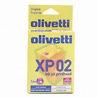 Inkoustová cartridge Olivetti B0218 color, 20, 22, Studio Jet 300, hlava originá